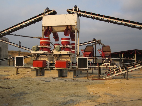 Crusher in Angola